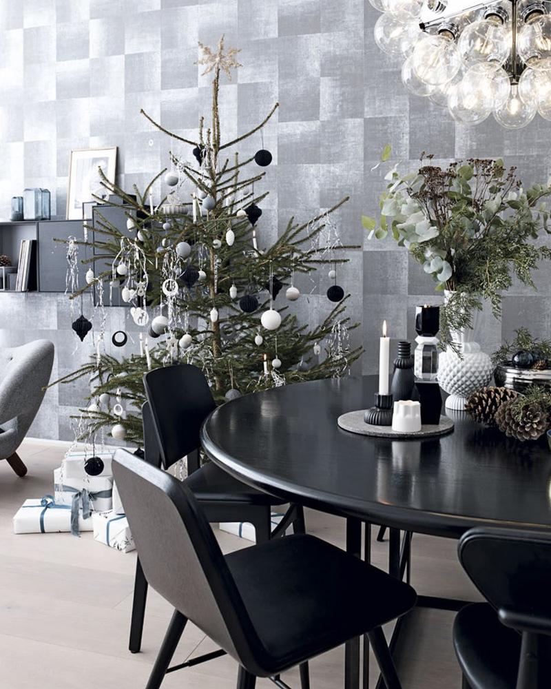 deco maison noel moderne