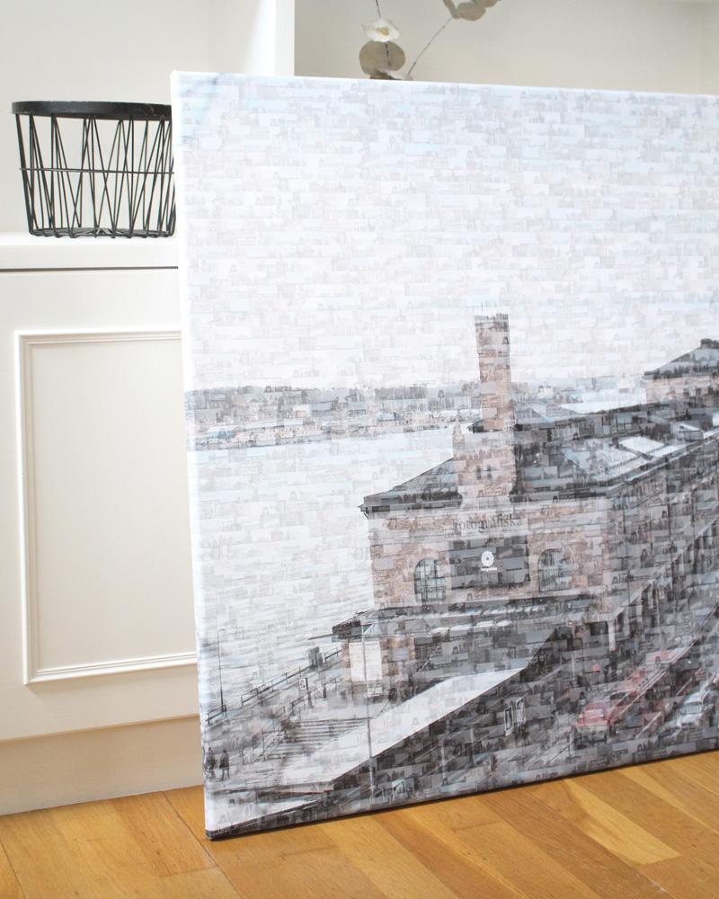 photo mosaïque deco murale