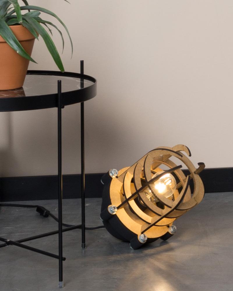 lampe sol boite a design