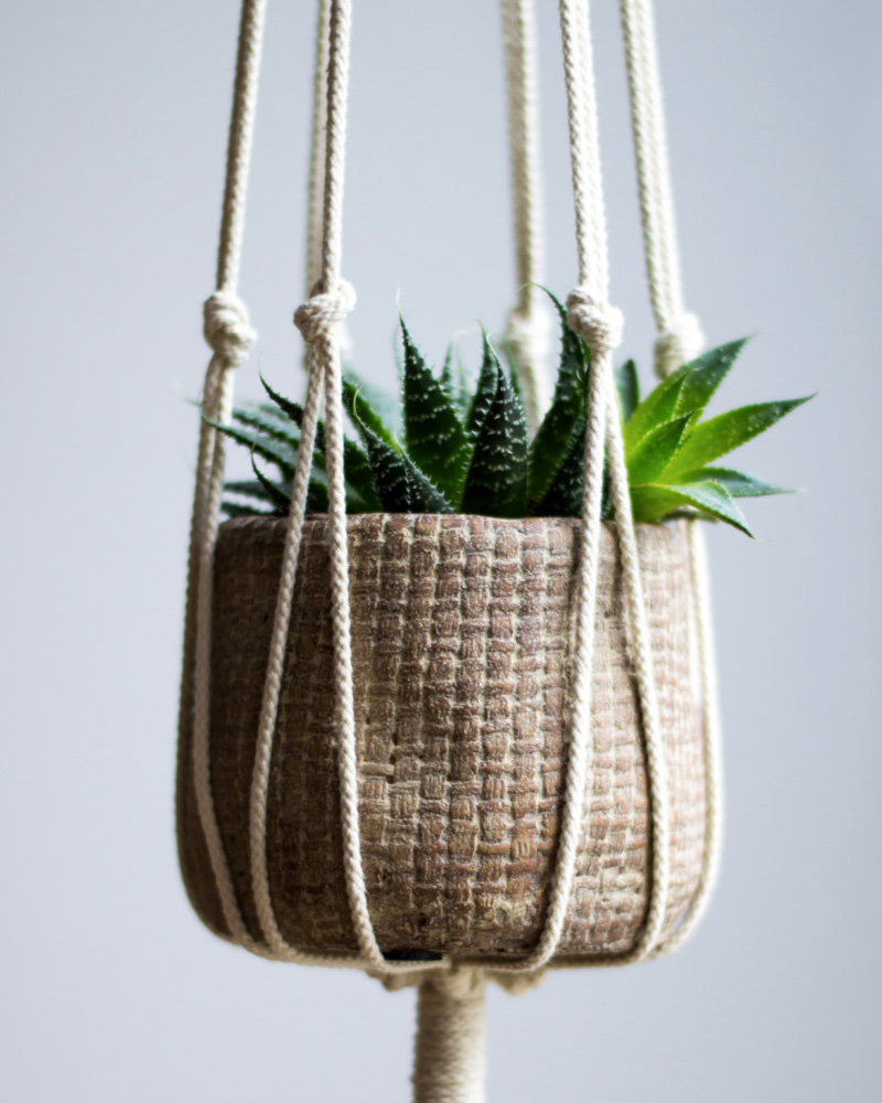 accessoire deco plante suspension