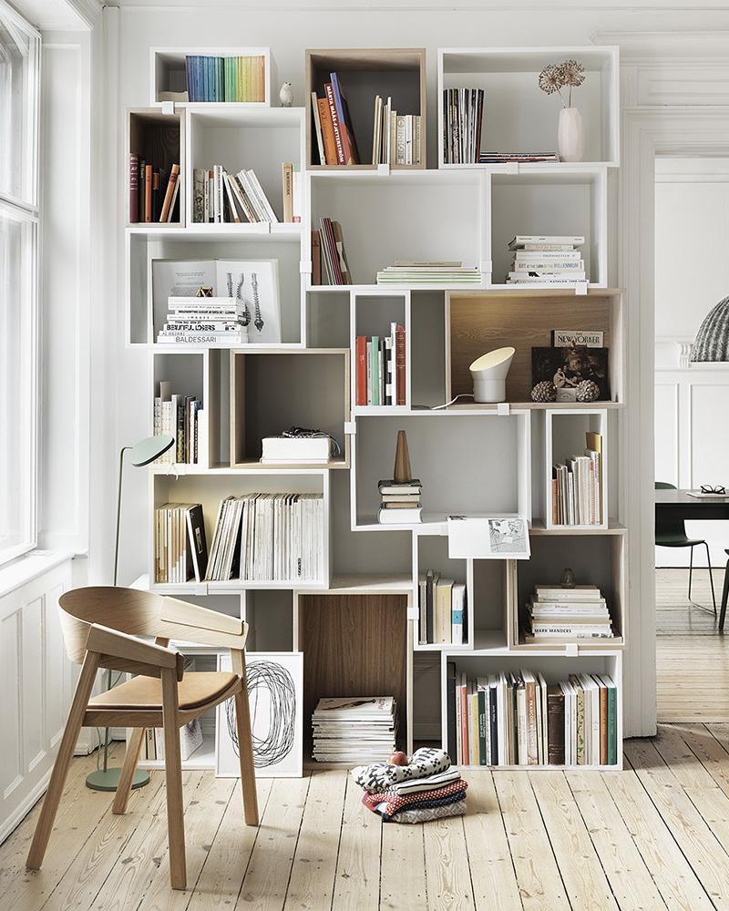 diy caisse bois bibliothèque