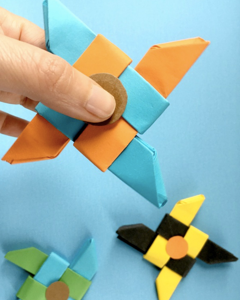 diy hand spinner origami