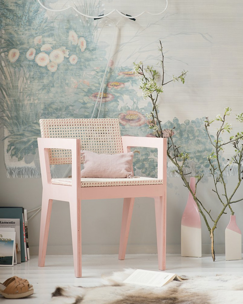 deco cannage chaise fauteuil diy