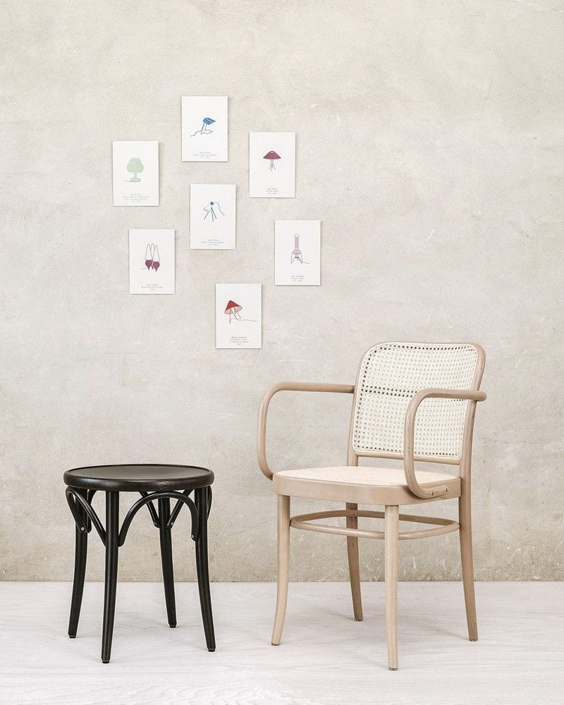 deco cannage fauteuil