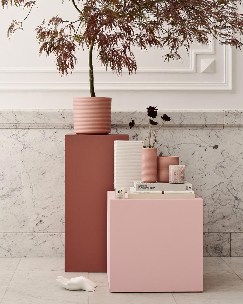 deco couleur terracotta rose blush
