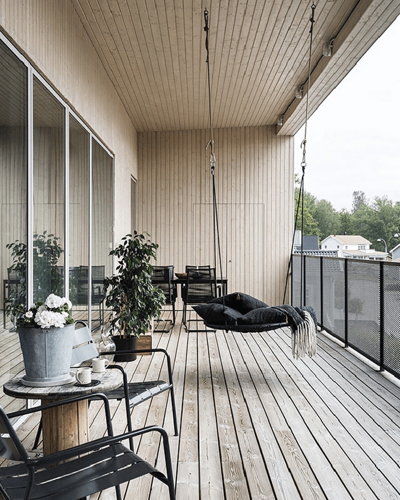 deco balcon printemps contemporain