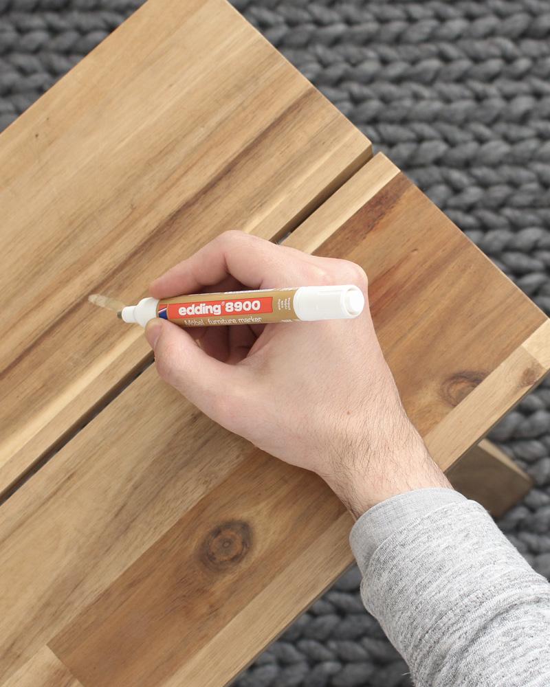 marqueur meuble edding