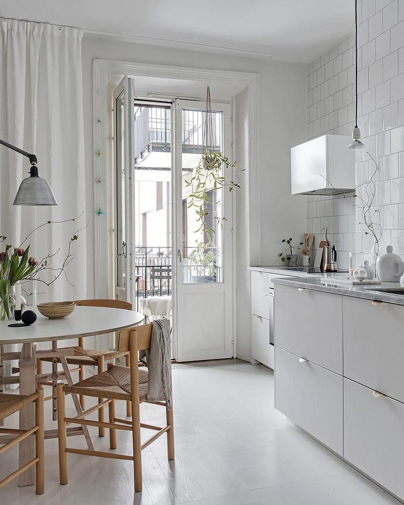 deco contemporaine noir blanc cuisine