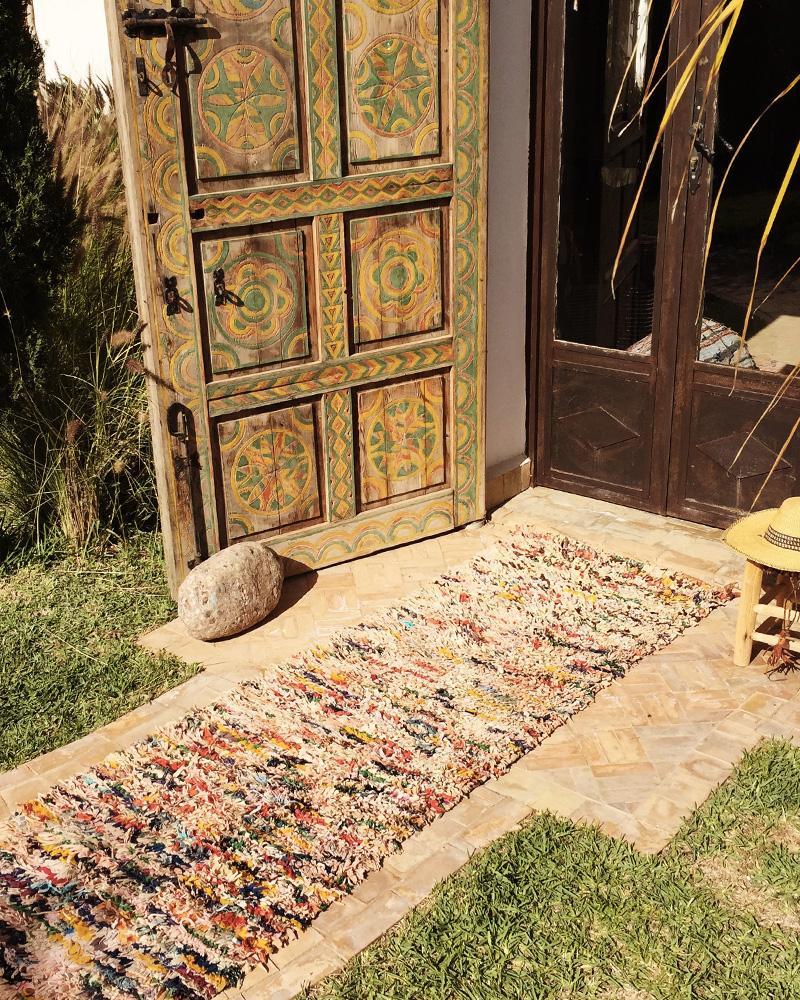 deco ethnique tribale tapis