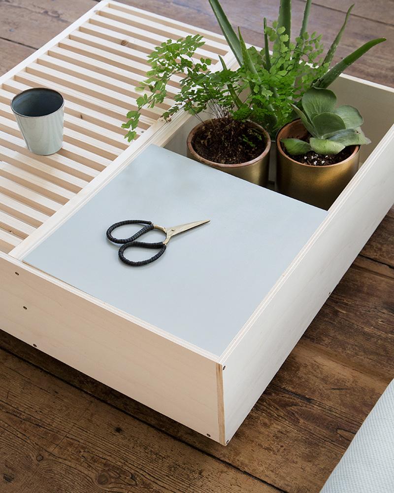 table basse diy modulable