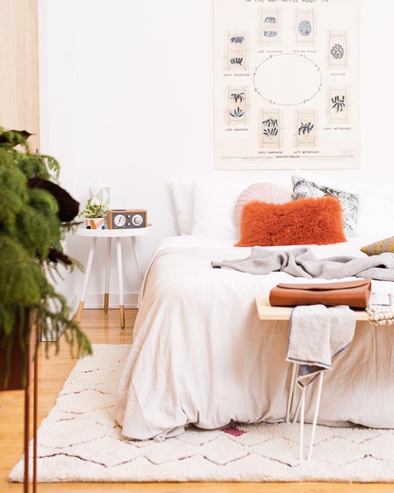 deco orange chambre