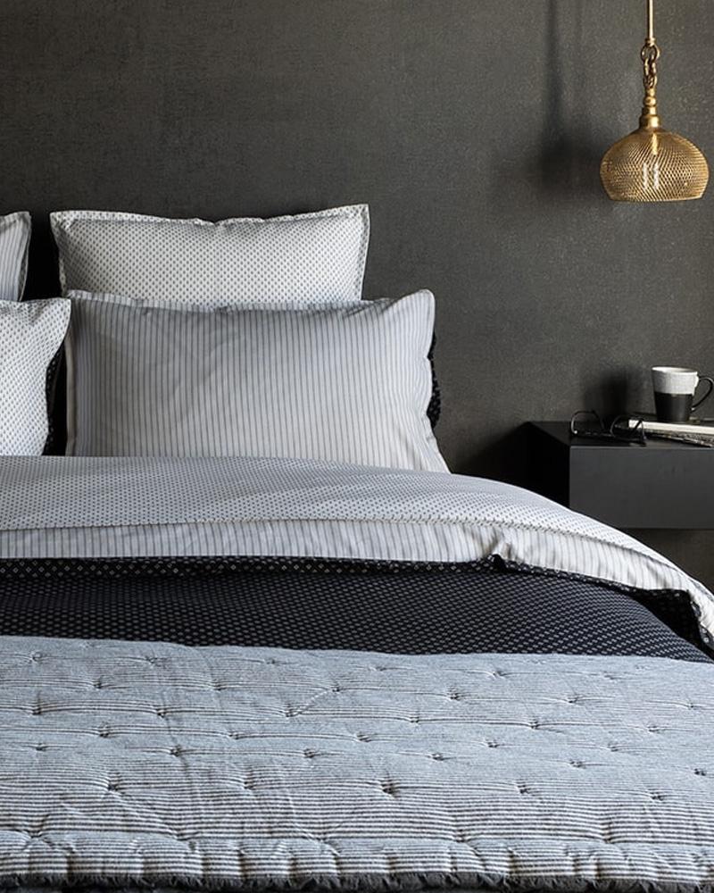 réchauffer deco chambre plaid bout de lit