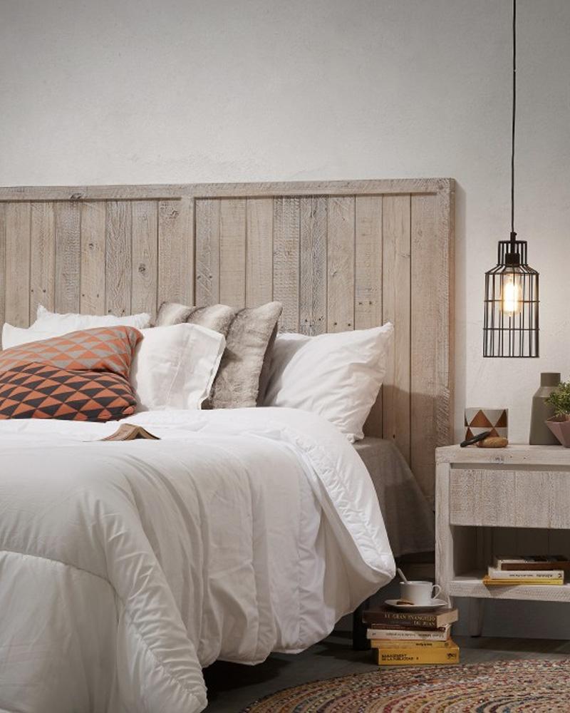 tete de lit chambre scandinave