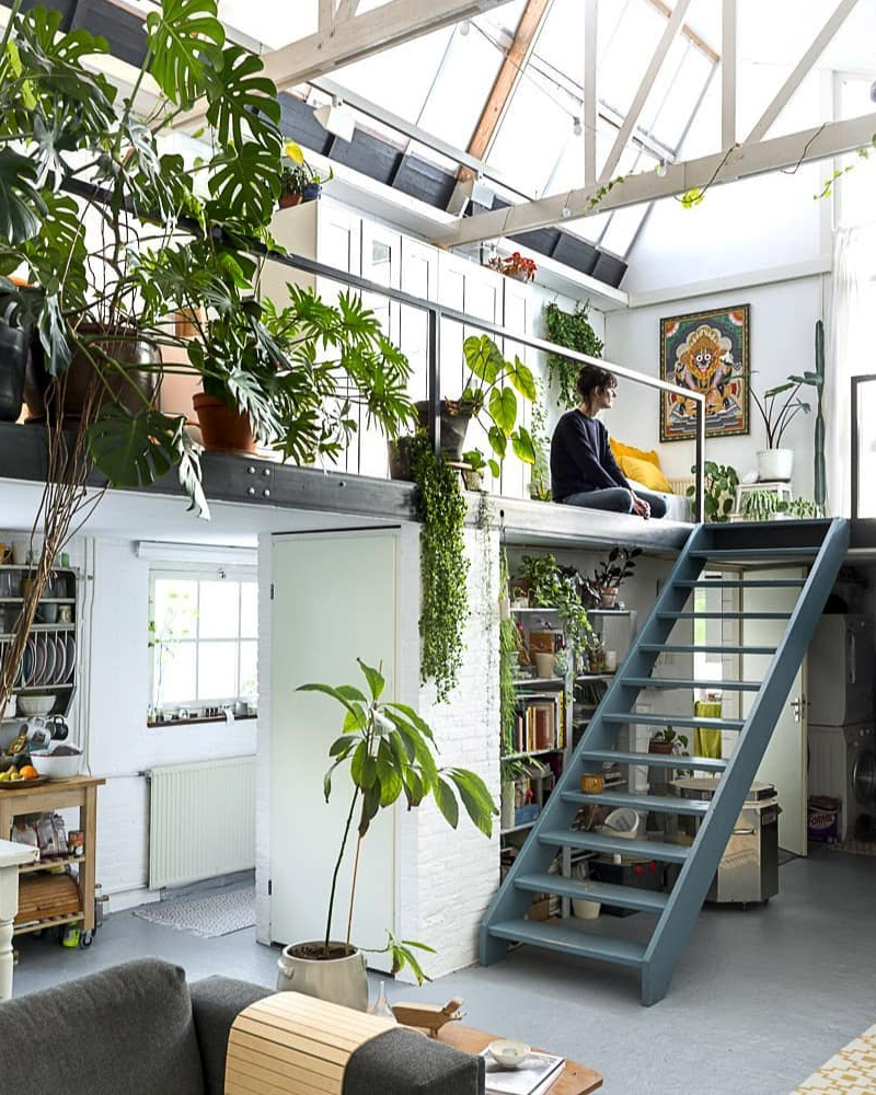 deco loft atelier vegetal
