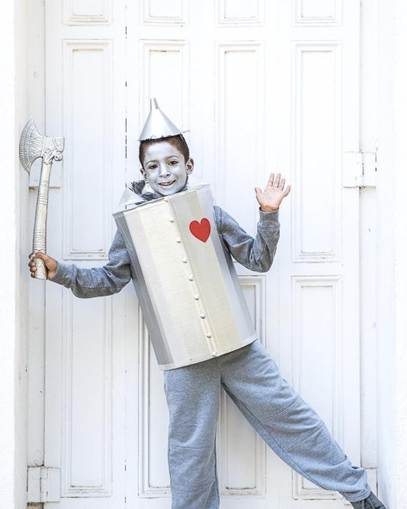déguisement halloween diy robot