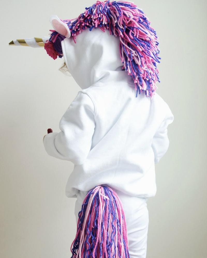 déguisement halloween diy enfant licorne