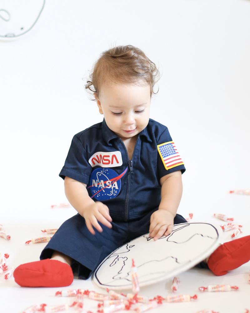 déguisement halloween diy bebe astronaute