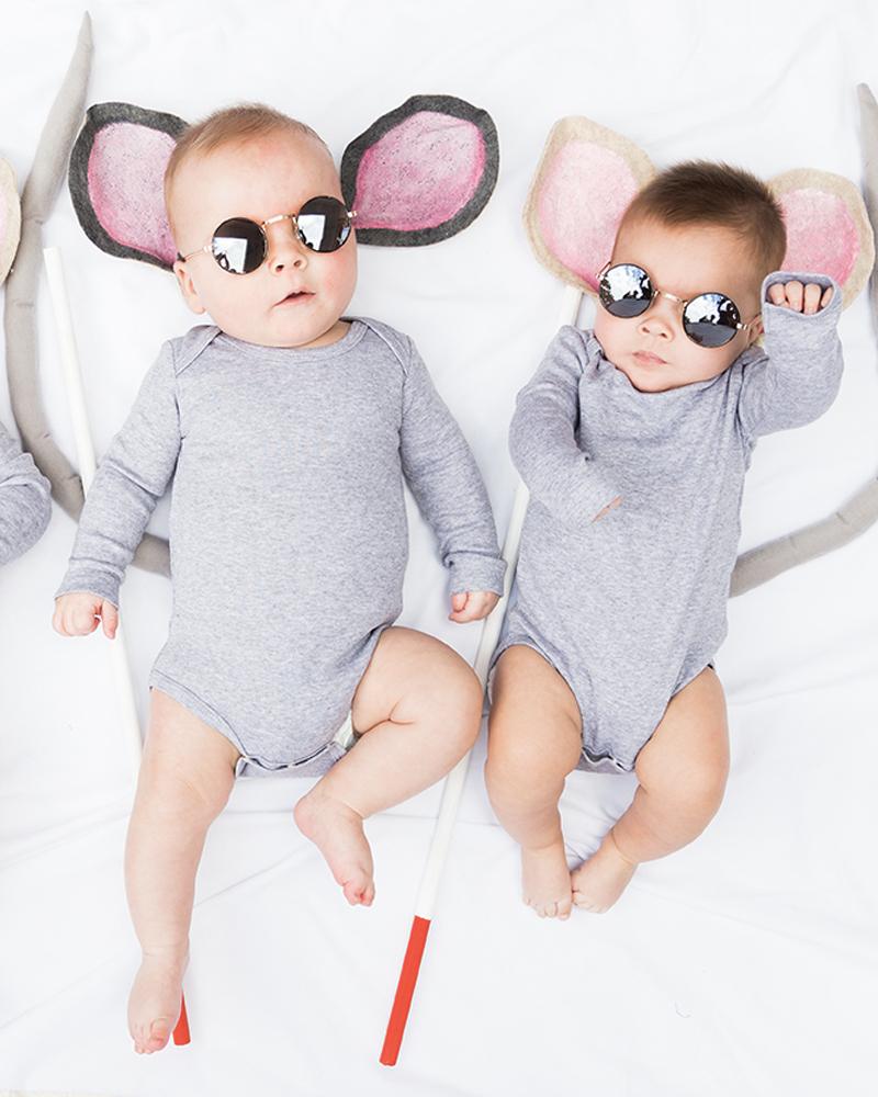 déguisement halloween diy bebe souris