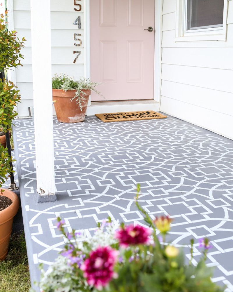 diy carreaux ciment terrasse