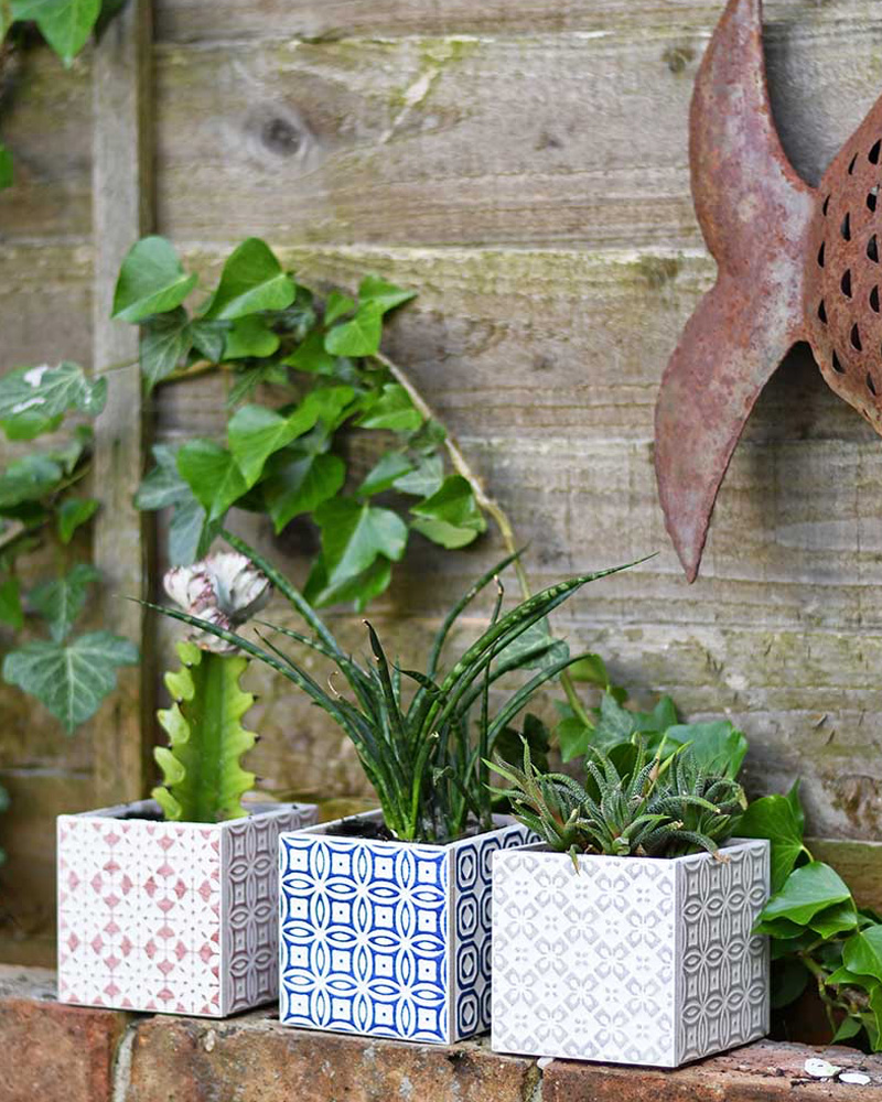 diy carreaux ciment pot