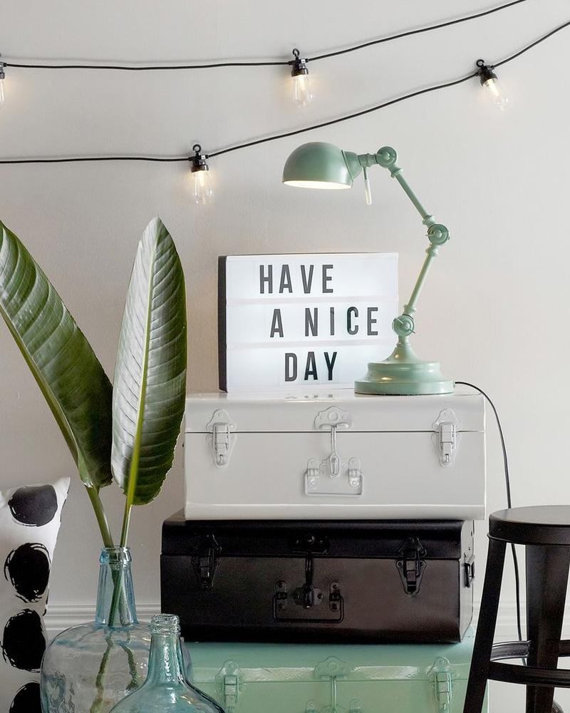 lampe bureau menthe