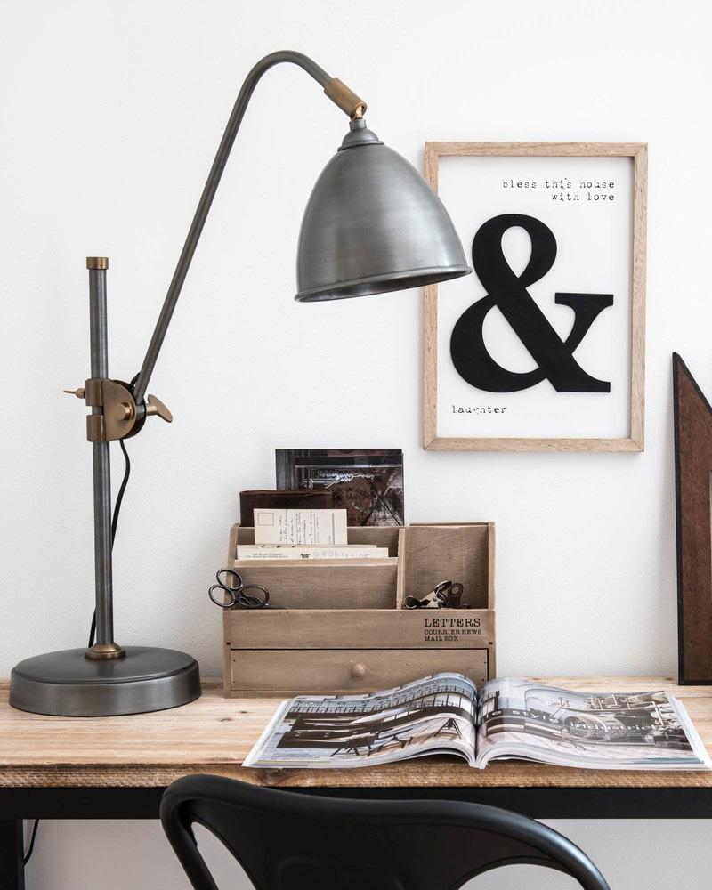 lampe bureau industrielle