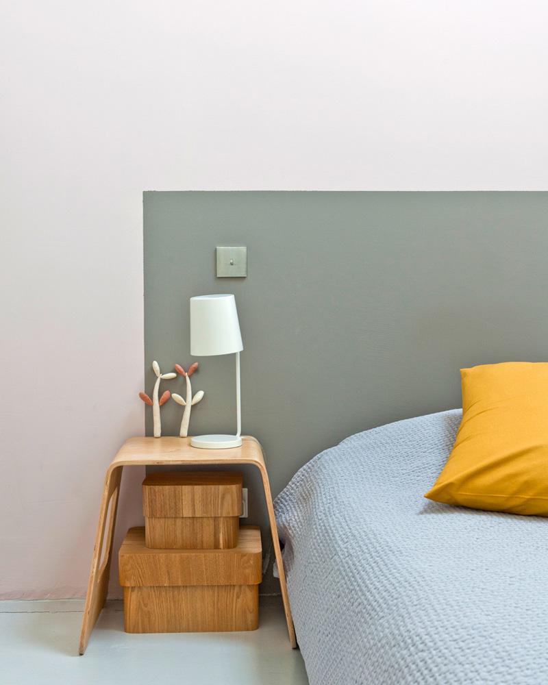 tete de lit diy peinture