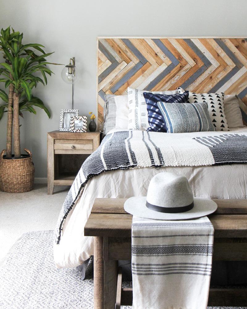 tete de lit diy bois récupération