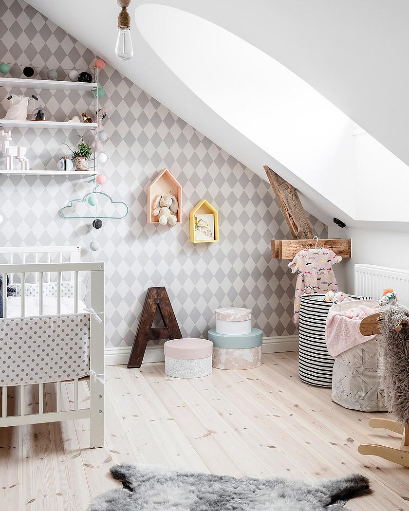 deco appartement naturel lumineux chambre enfant