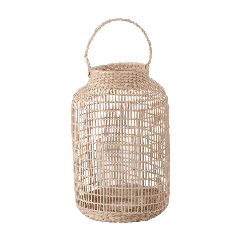 deco balcon cosy automne lanterne