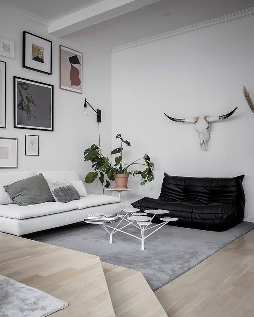 deco triplex contemporain salon