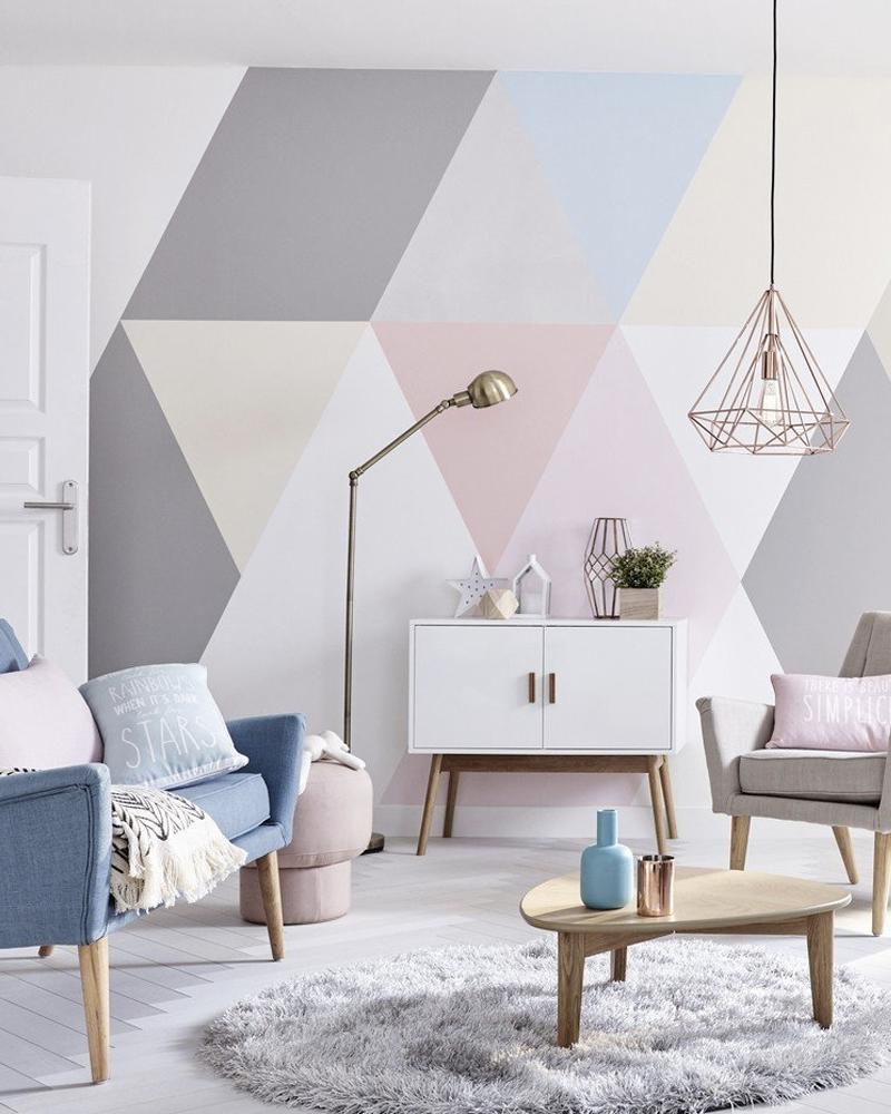Faire Un Mur De Photos Décoration 10 diy déco pour relooker les murs de votre salon | shake my