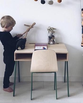 chaise scandinave en bois enfant