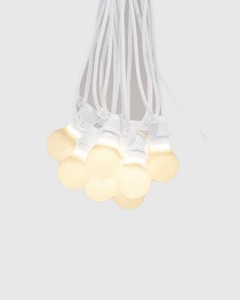 guirlande ampoules blanche