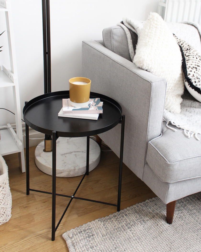 home tour teri the lovely drawer table appoint noire