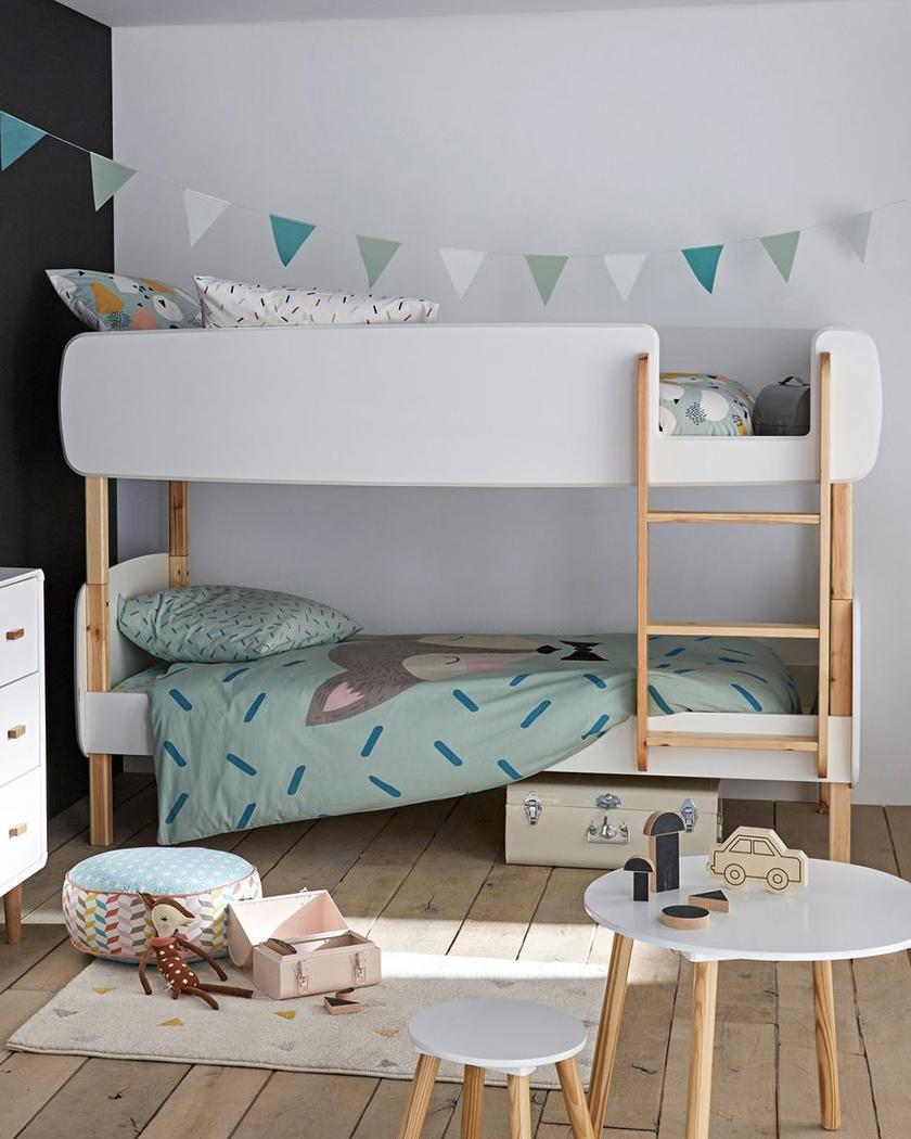 deco chambre enfant lit superposé
