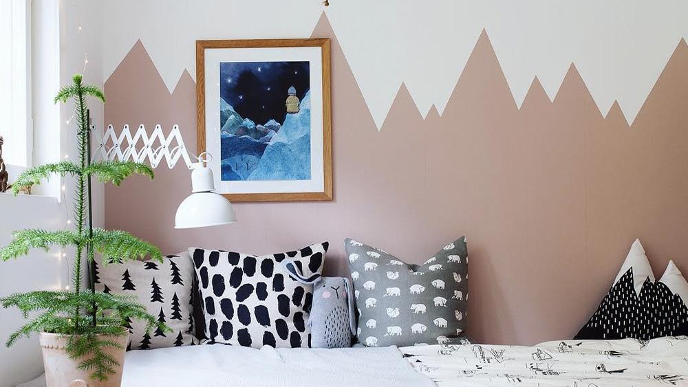 10 Façons De Créer Un Mur Montagne Dans La Chambre Des