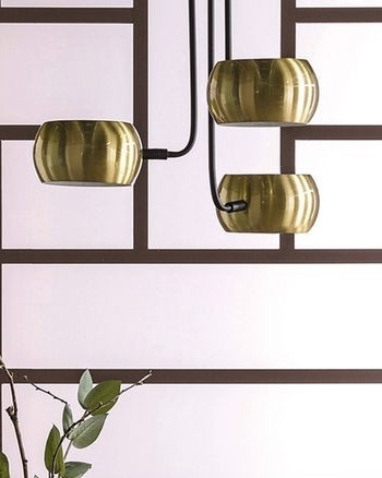 suspension laiton art deco