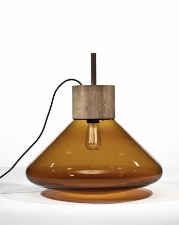 lampe miel ambre