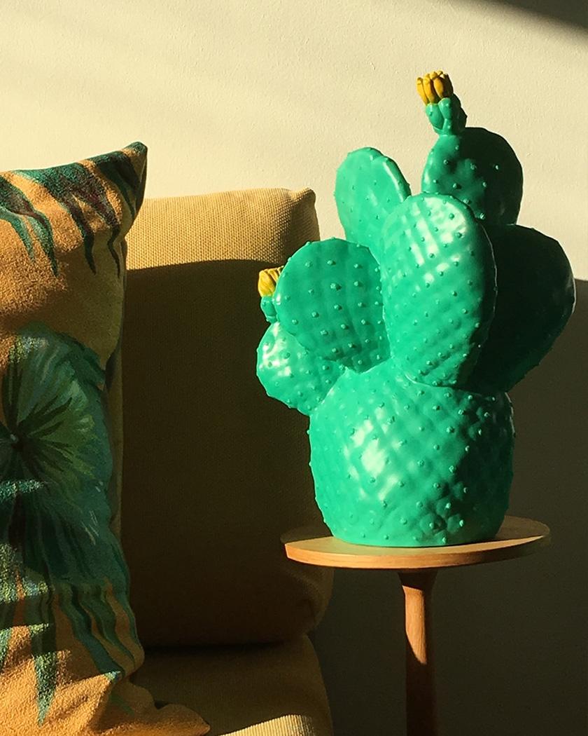 deco zeeloft petit prix lampe cactus
