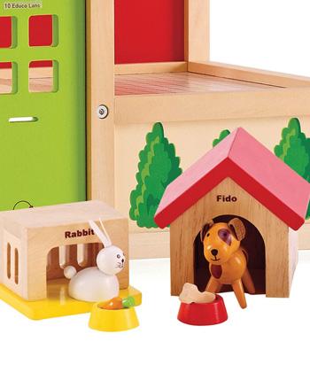 animaux en bois
