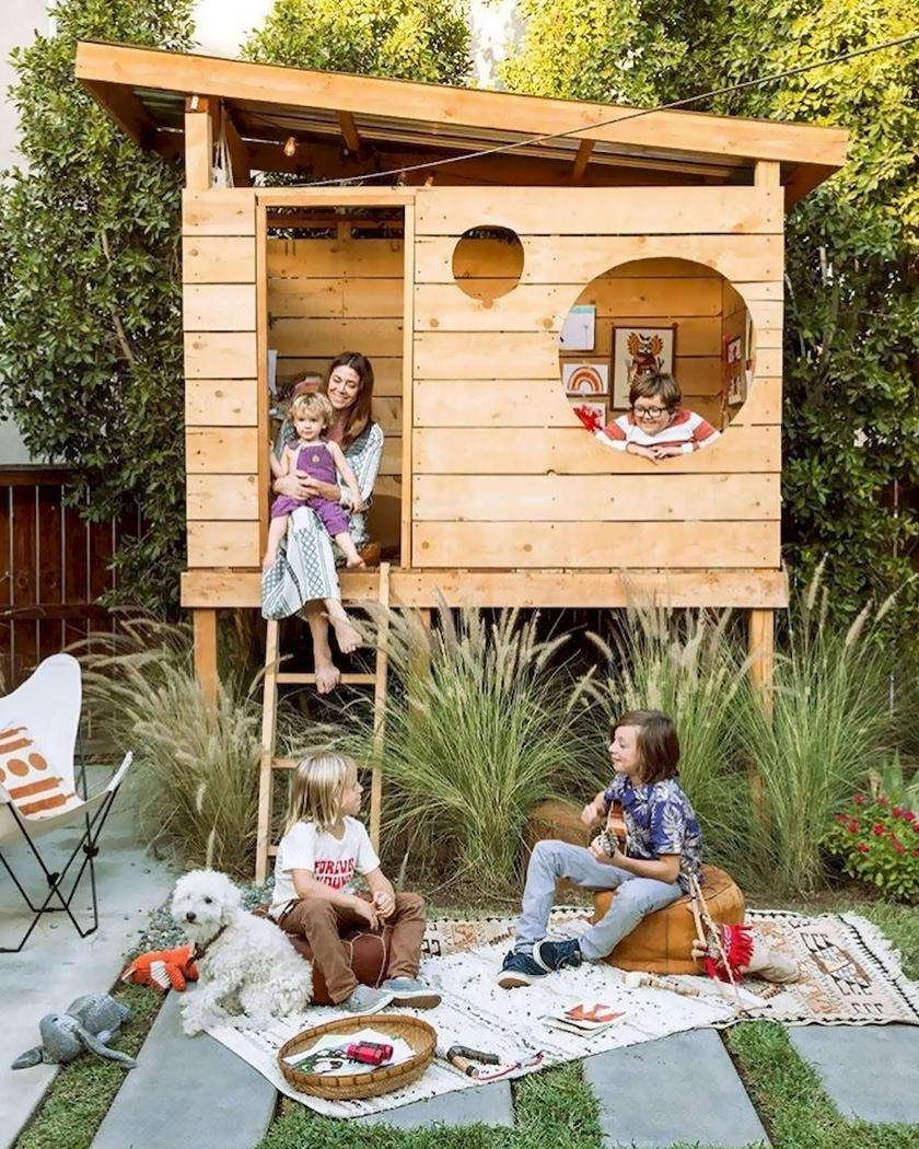 cabane diy jardin moderne