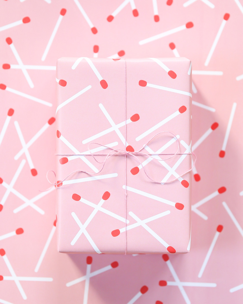diy a imprimer saint valentin papier moderne rose