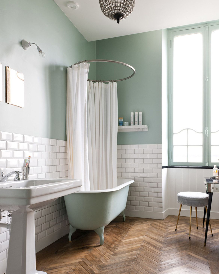 Utiliser le carrelage métro dans la salle de bain  Shake My Blog