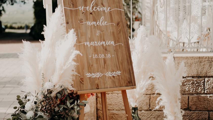 deco mariage faire part bohème
