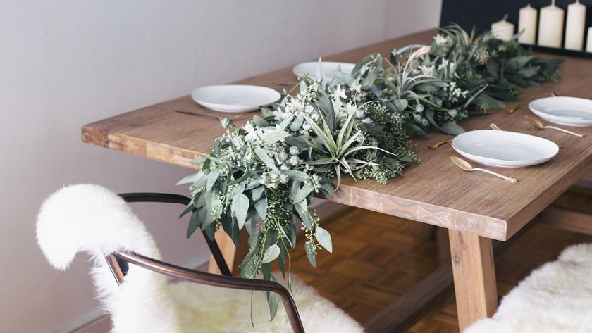 deco mariage faire part vegetal