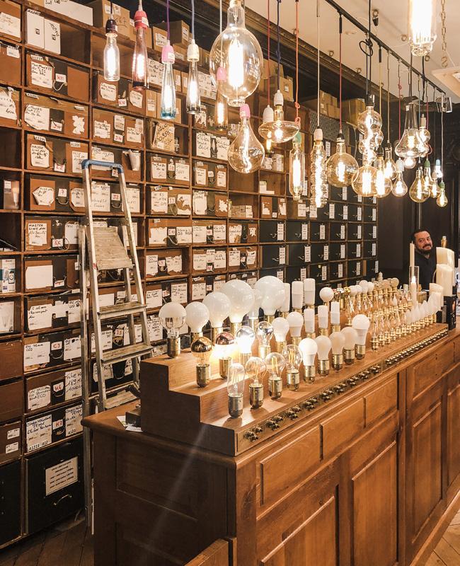 boutique bazar électricité paris luminaires