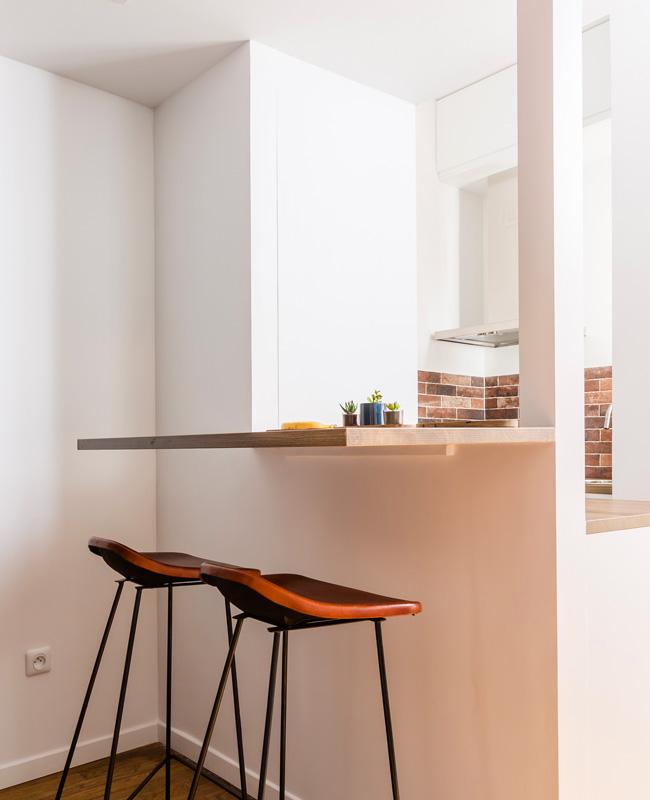 deco studio vintage industriel cuisine
