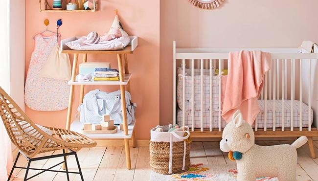 préparer chambre bébé