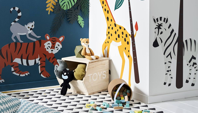 deco enfant jungle